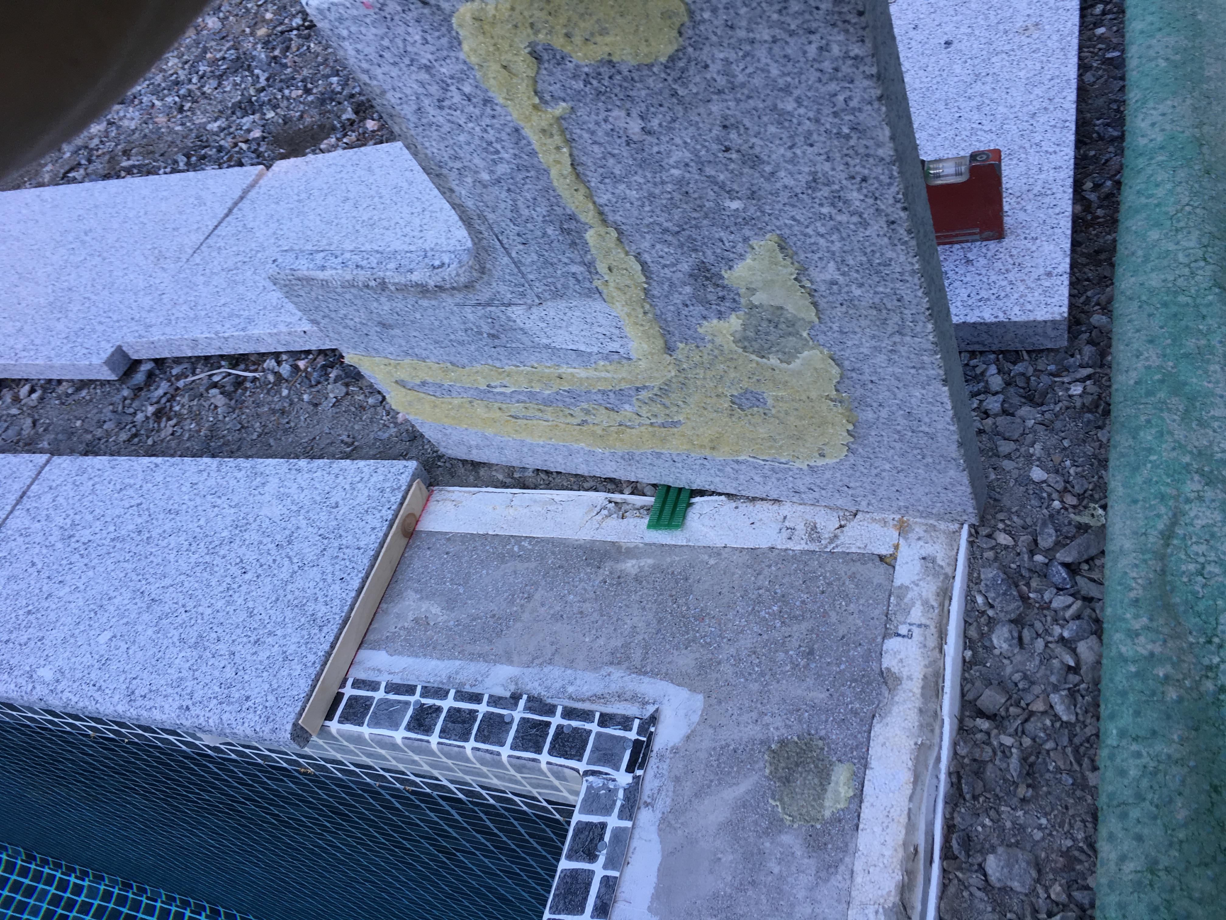 limma på betong